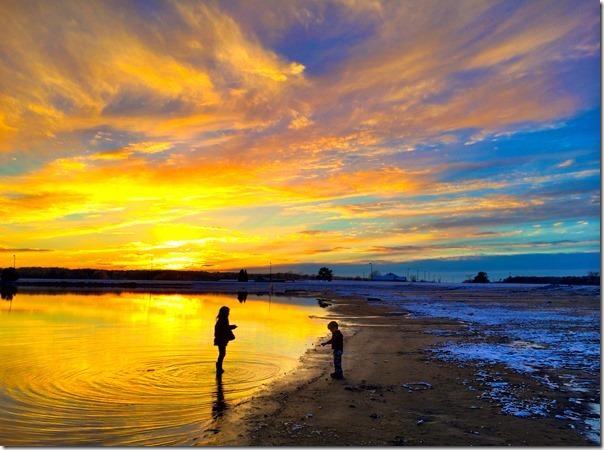 Lake Eufaula Sunset 507pm