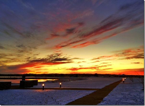 Lake Eufaula Sunset 527pm