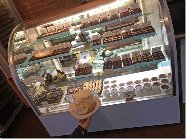 Topper Visits French Broad Chocolates