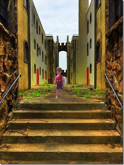 Courtyard Spidey
