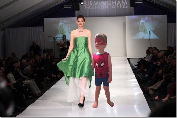 Fashion Week Spiderman