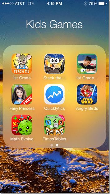 iPhone Folder