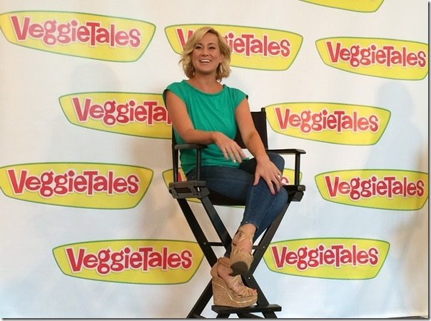 Kellie Pickler at Veggie Tales