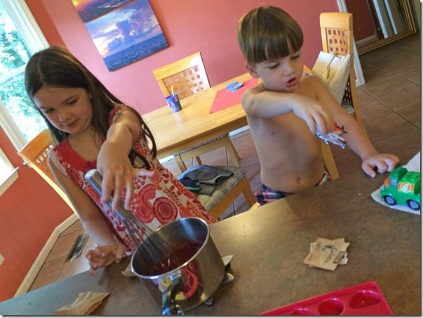 Making Jell-O with Children 1