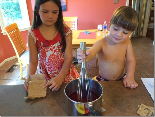 Making Jell-O with Children 2