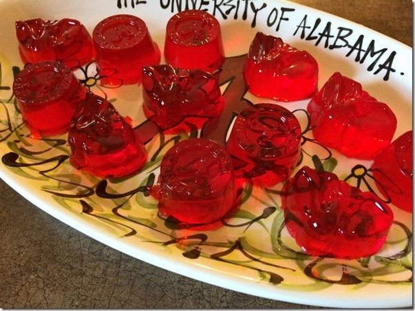 University of Alabama Jell-O 1