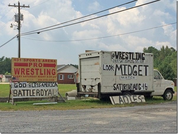 Wrestling Midget Match