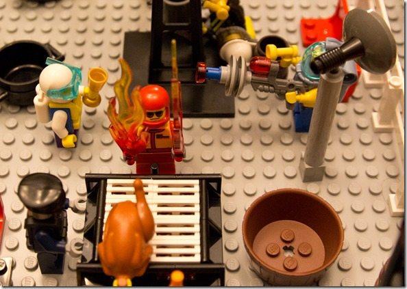 Lego Grillmaster
