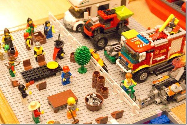 Lego Tailgating