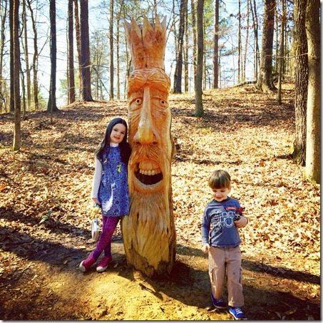 Aldridge Gardens Totem Pole