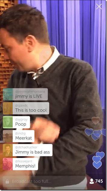 Jimmy Fallon Periscope