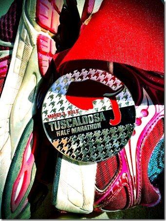 Tuscaloosa Half Marathon Medal