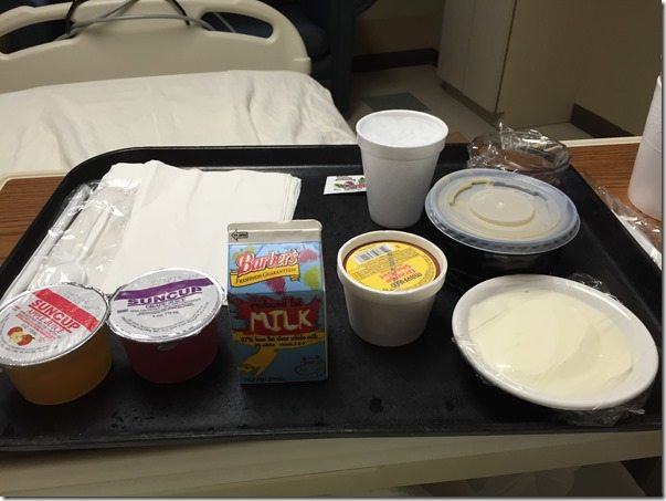 Hospital Dinner