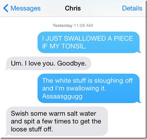 Tonsil Text