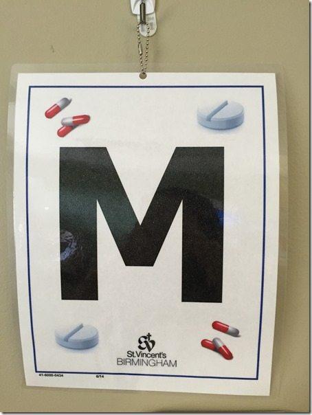 Weird Hospital Pill Sign