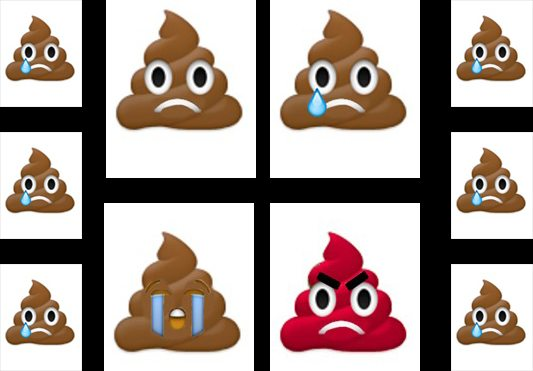 Sad Poo Emoji Collection
