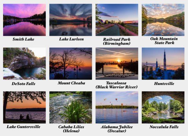 2016 Alabama Notecards