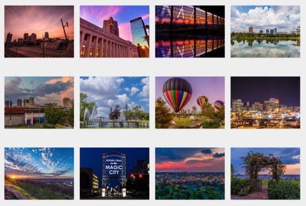 2016 Birmingham Notecards