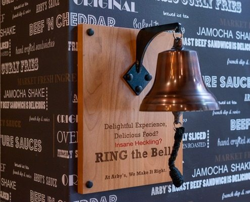 Arbys Ring the Bell