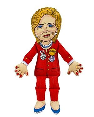 Hillary Clinton Chew Toy