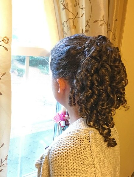 Curly High Ponytail