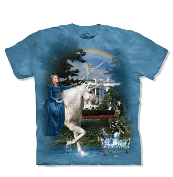 Hillary on a Unicorn T-Shirt