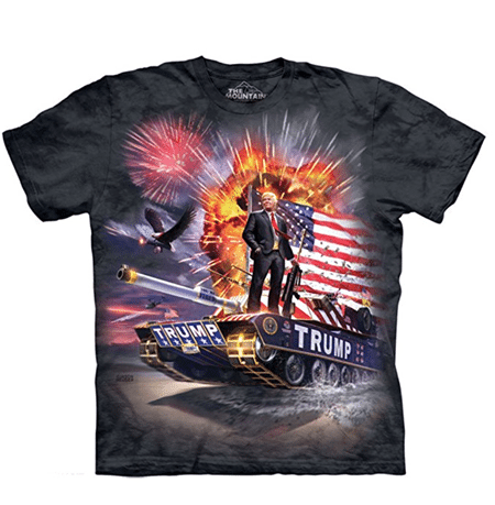 Trump on a Tank T-Shirt